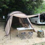 デイキャンプin生駒山麓公園。鮎解禁で食べまくり!サバティカル「アルニカ」初張り