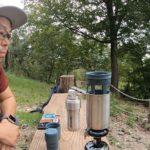 スタンレー真空コーヒーシステムで山コーヒタイム