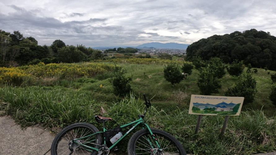 日本最古の道。山の辺の道のグラベルをサーリーで走破。